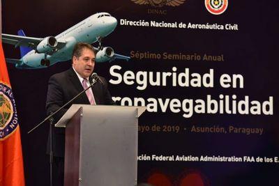 Paraguay es sede de charlas de seguridad en la Aviación Internacional