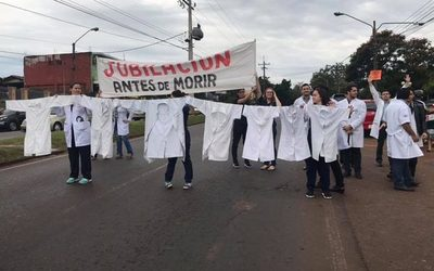 Médicos irán a huelga