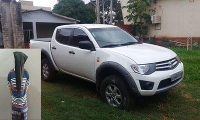 Recuperan vehículo robado en Brasil