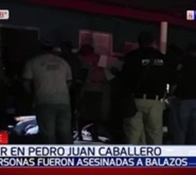 Sicarios acribillan a seis personas en Pedro Juan Caballero