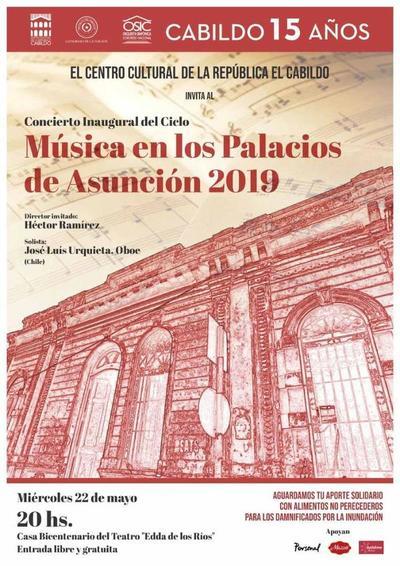 Música en los Palacios inaugura nuevo ciclo este miércoles