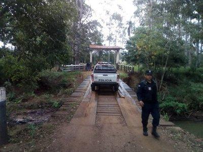 Realizan allanamientos tras múltiple crimen en Pedro Juan