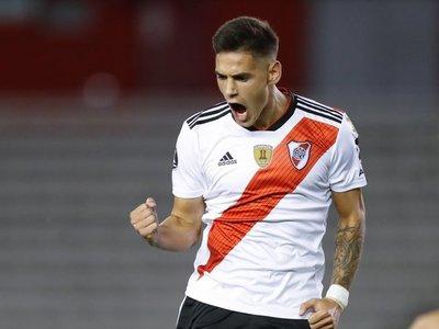Paranaense y River Plate inician en Brasil disputa por el título de la Recopa