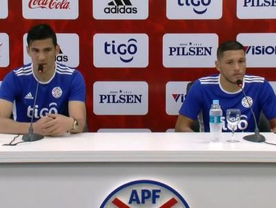 Balbuena y Ortiz hablan de las actividades de la selección