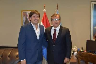 """Michell Flores: """"Acertada decisión de Nicanor Duarte"""""""