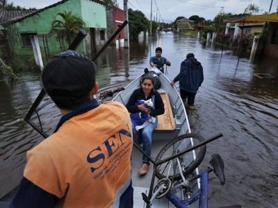 Pilar: intendente pidió evacuar a unas 200 familias