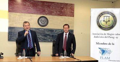 Ministros de la Corte se reunieron con jueces y funcionarios del fuero civil
