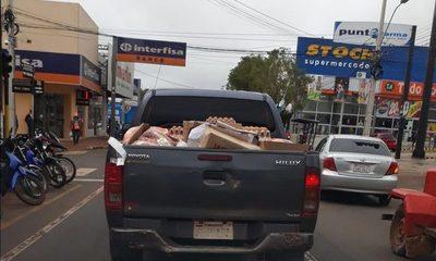 Girasol, empresa mimada por Vaesken sigue   entregando alimentos podridos en Misiones