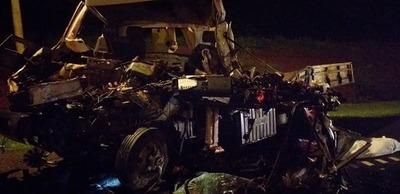 Camionero muere en brutal accidente rutero