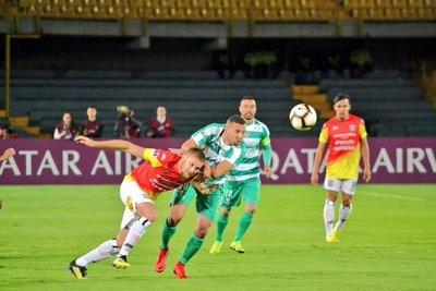 Deportivo Santaní no pudo en tierras cafeteras y espera el partido de vuelta