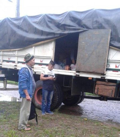 Campesinos envían productos agrícolas para damnificados