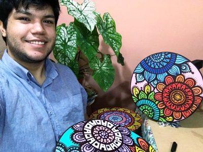 Arte plasmado en butacas decorativas