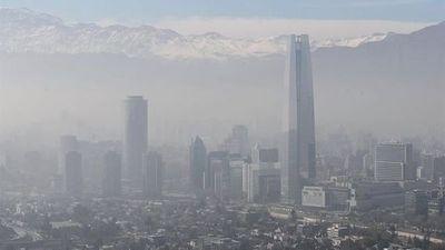 Santiago de Chile, bajo primera alerta ambiental del año por calidad del aire