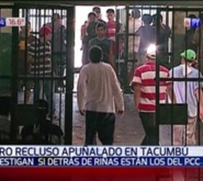 Nueva riña en Tacumbú: Reo fue herido de tres puñaladas