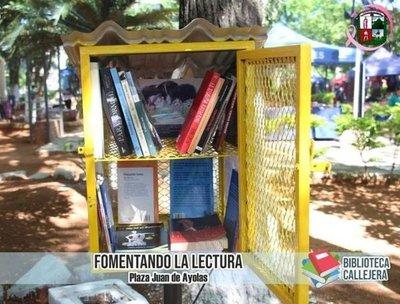 La buena lectura ahora viene en un buzón gracias a bibliotecas callejeras