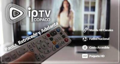 Copaco ofrece 50% de descuento en servicio de televisión interactiva