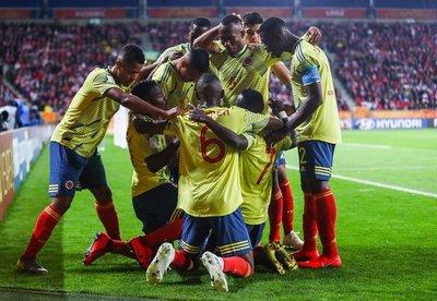 Colombia vence al anfitrión en su debut en el Mundial Sub 20