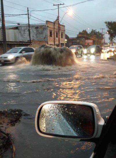 Contraloría pide informes sobre obras de desagüe