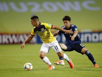 Japón saca provecho de errores de Ecuador y logra empatar