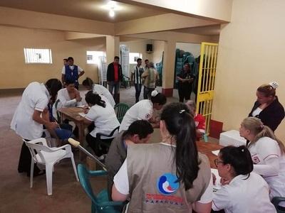 Aplican 440 dosis antigripales en Penitenciaría Regional de Oviedo