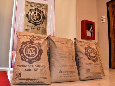 INC dispone de cemento económico para albañilería