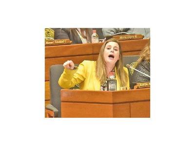 Kattya planteará eliminar la jubilación de los legisladores
