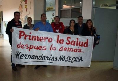 Hernandarienses se autoconvocan y quieren funcionamiento integral del hospital distrital