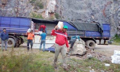 Más campesinos se unen a la iniciativa: Entregan más 32.000 kilos de alimentos a damnificados del Chaco