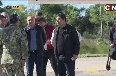 Vicepresidente de la República llega a Pilar