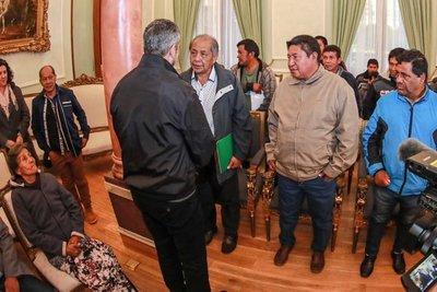 Indígenas se reunieron con Mario Abdo Benítez