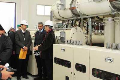 Presidente verificó subestación de Villa Aurelia que potenciará el consumo eléctrico