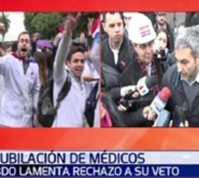 Mario Abdo justifica su veto parcial a ley de Jubilación Médica