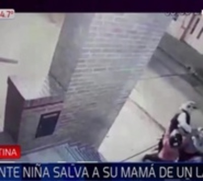 Niña de 11 años repelió con un golpe a ladrón que asaltó a su mamá