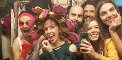 """HOY / La comedia """"Supermercado"""" se va despidiendo de las tablas del Arlequín Teatro"""
