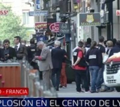 Explosión en plena calle deja 10 heridos en Francia