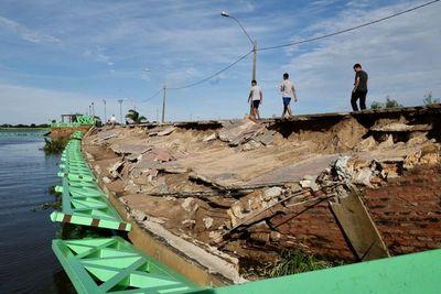 Estudios impulsan a realizar un muro contenedor para Pilar