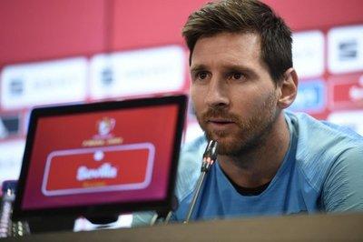 """Messi confiesa que sufrió un """"golpe durísimo"""""""