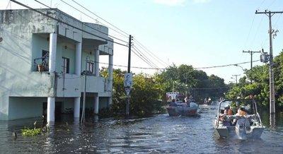 """""""Es una catástrofe, el 99% de Nanawa está bajo agua"""", afirma intendente"""