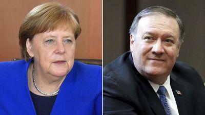 Merkel se reunirá con Pompeo el 31 de mayo para hablar sobre Irán