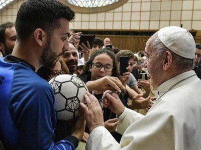 El papa Francisco y una inédita reflexión sobre el fútbol