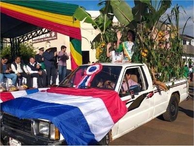 Día del Agricultor: Colorido festejo en Coronel Bogado