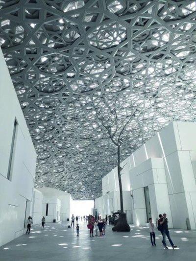 El maravilloso Louvre Abu Dabi