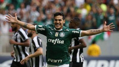 Gómez le dio el triunfo al Palmeiras