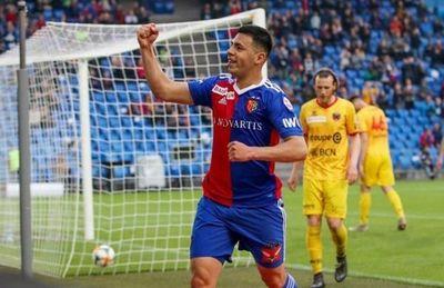 Riveros anotó un golazo para el FC Basel
