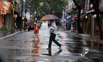 Se prevé una jornada cálida y con lluvias
