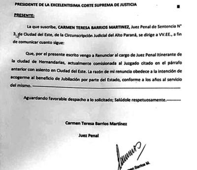 Desgastadas figuras buscan ocupar cargo vacante en la Cámara de Apelación Penal