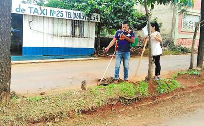Jóvenes se organizan para mejorar su barrio