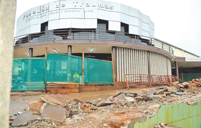No arrancan obras para reparar rampa del Hospital de  Traumas