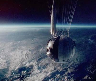El primer hombre que alcanzó la estratosfera