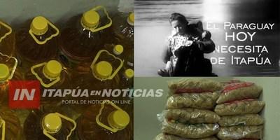 TRP: INCONDICIONAL ACOMPAÑAMIENTO A LA CAMPAÑA ITAPUA SOLIDARIA.